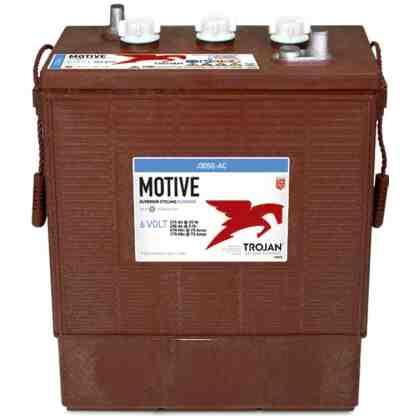 Batería Trojan J305G 6V 315 Ah Electrolito Liquido Ciclo Profundo (Bajo Mantenimiento)