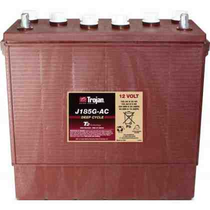Batería Trojan J185G 12V 185 Ah Electrolito Liquido Ciclo Profundo (Bajo Mantenimiento) (copia)