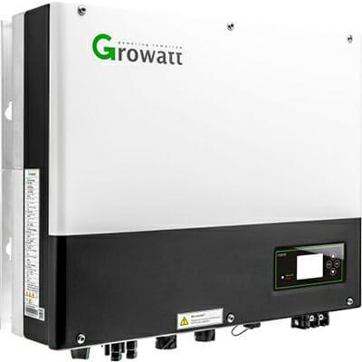 Inversor Hibrido Growatt SPH5000W Con Inyección Cero 48V – 2 MPPT- 550V