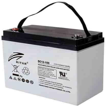 Batería Ritar DC12-100 AGM Ciclo Profundo (VRLA)